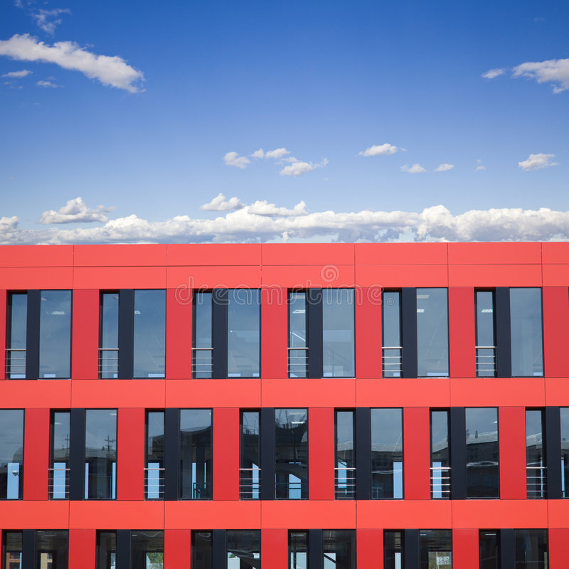 Free Modern Red Building Stock Photos - 9027003