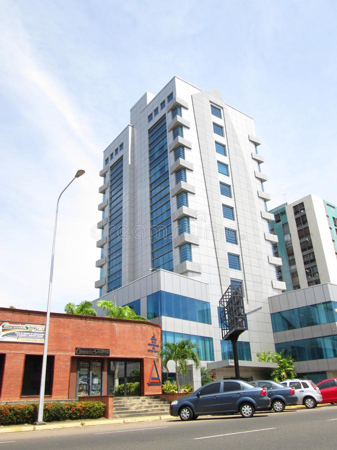 Modern residential apartment building royalty free stock photography
