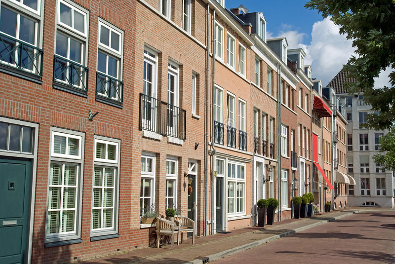 Modern residential area in Helmond, The Netherland royalty free stock images