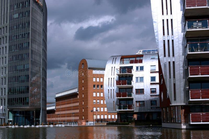 Modern Residential Aria stock image