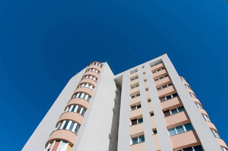 Modern residentual tower building stock photos