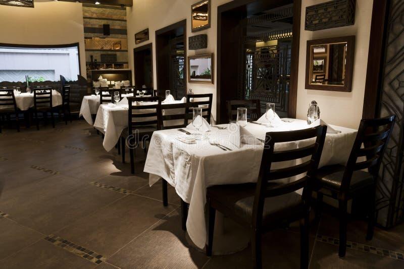 modern restaurang fotografering för bildbyråer