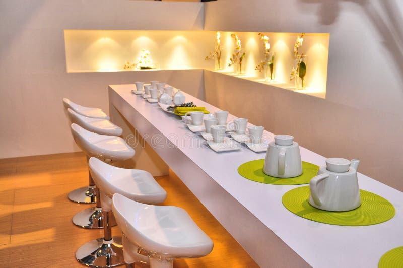 modern restaurang royaltyfria foton