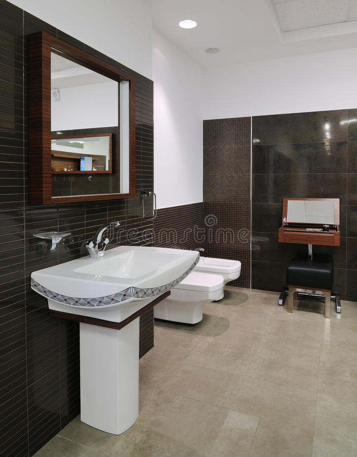 Download Modern restroom stock image. Image of area, architecture - 22040631