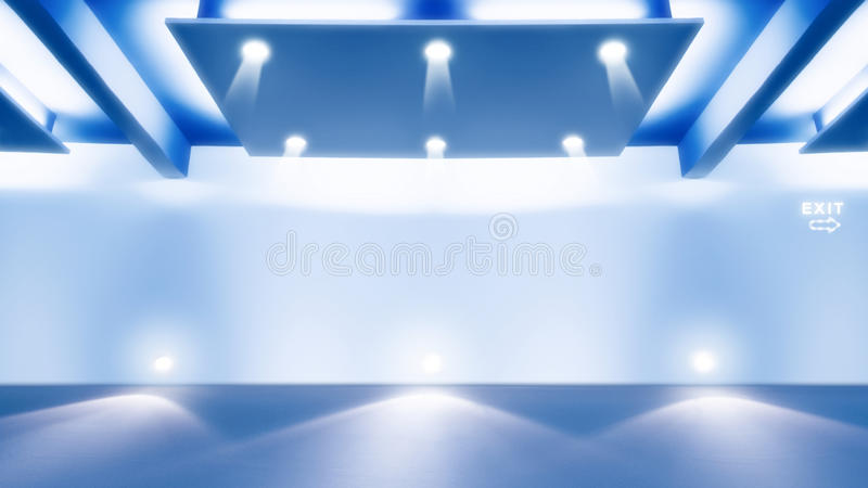 Download Modern room stock illustration. Image of light, wall - 24106854