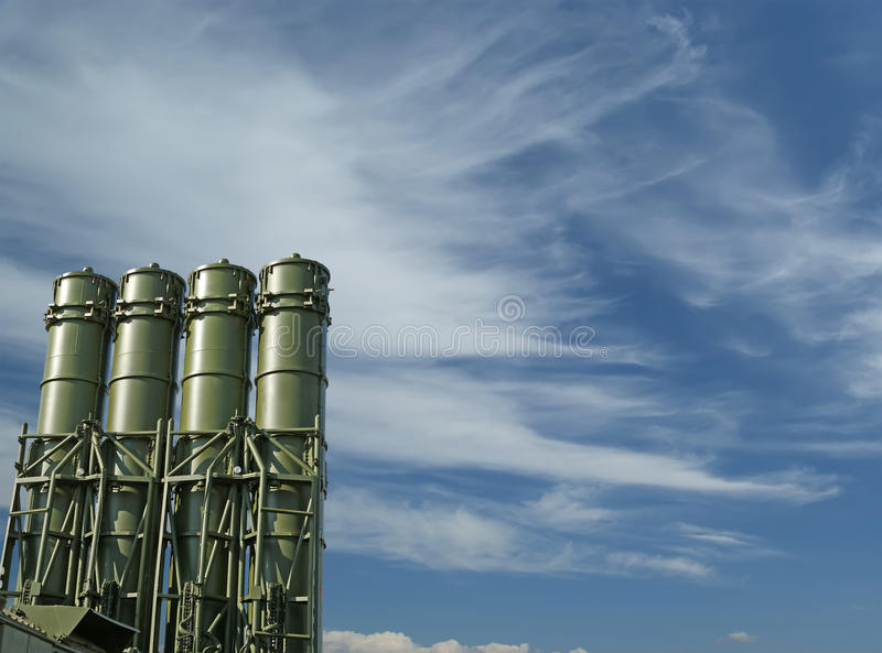 Modern Russian Missiles Stock Image