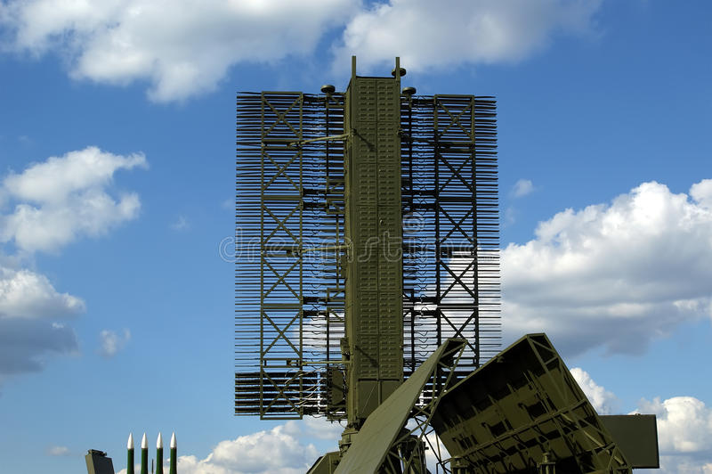 Modern Russian radar royalty free stock images