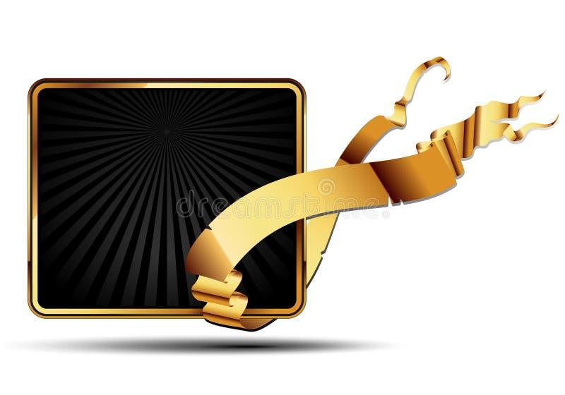 Modern schild royalty-vrije illustratie