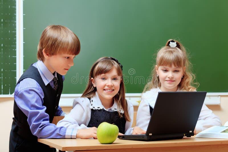 Modern school royalty free stock image