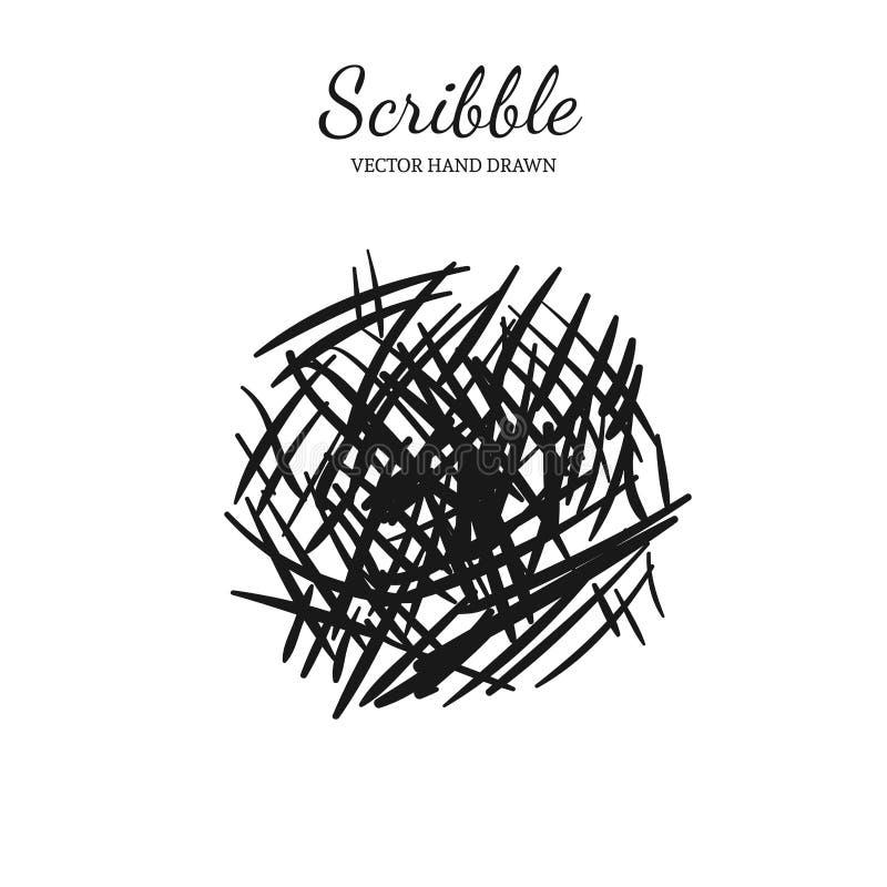 Modern scribble element 8 vector illustration