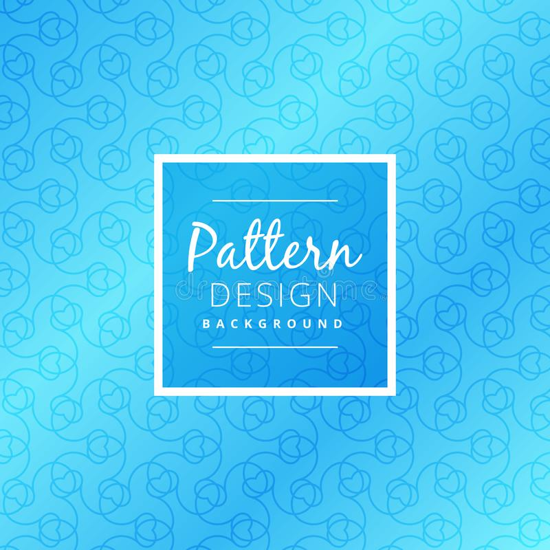 Modern seamless blue pattern vector design illustration vector illustration
