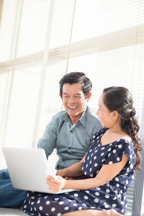 Download Modern seniors stock image. Image of couple, laughing - 34646799