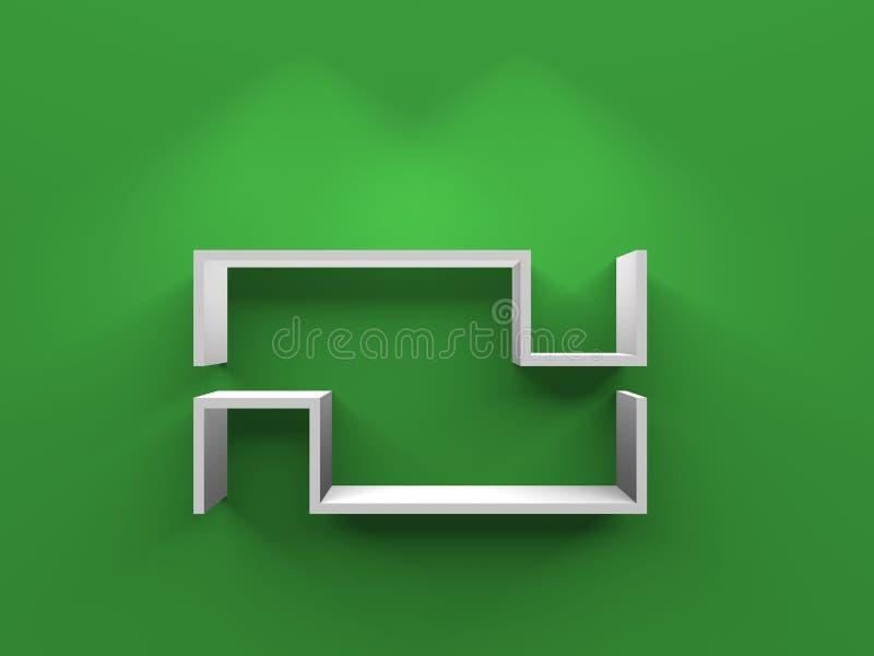 Download Modern Shelf stock illustration. Image of installation - 20104452