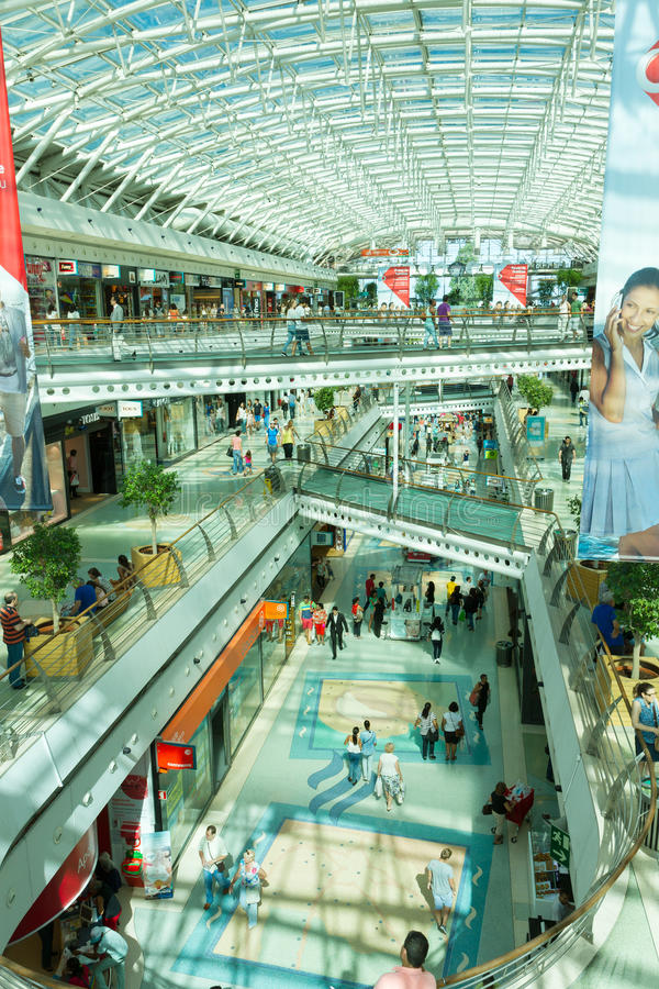 Modern shoping mall lisbon portugal editorial photography download modern shoping mall lisbon portugal editorial photography image of purchase lisboa sciox Gallery
