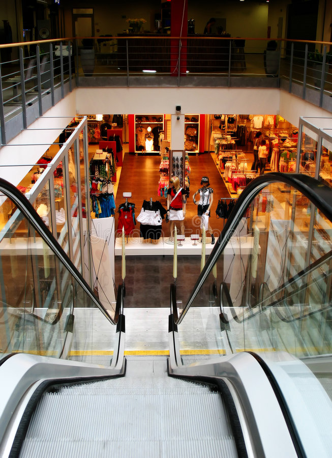 Download Modern Shopping Center Stock Image - Image: 2650441