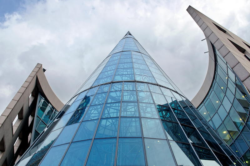 Modern shopping mall stock photography