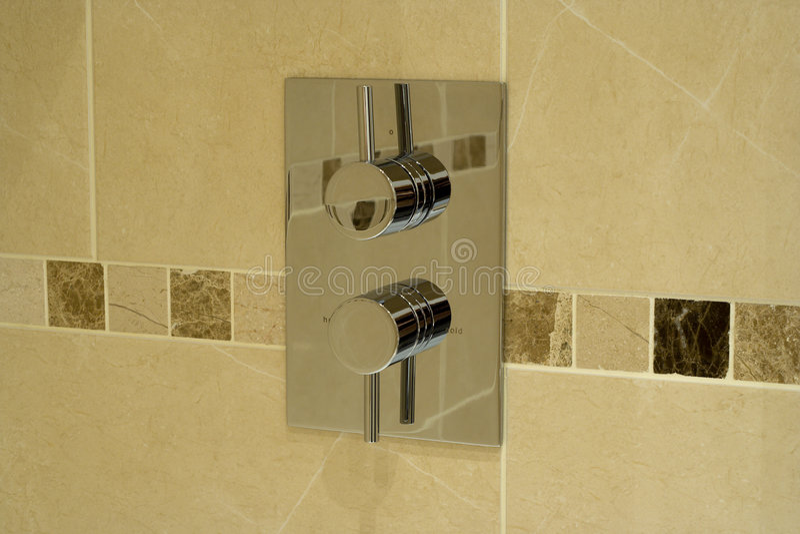 Modern shower stock images