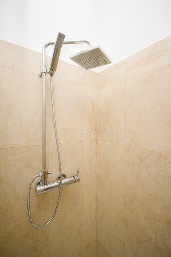 Modern shower royalty free stock image