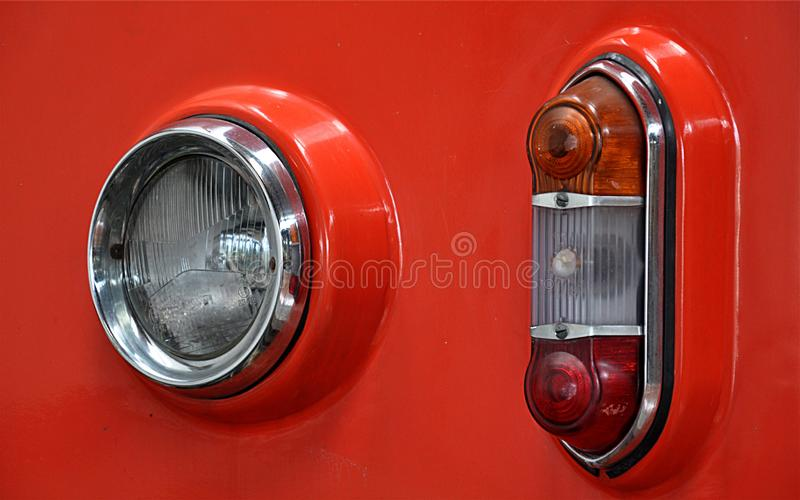 Modern signal light stock photos