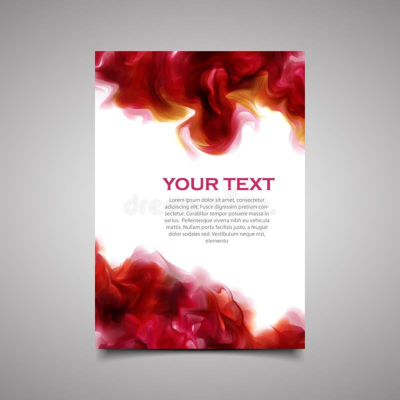 Modern simple marketing business flyer. stock image