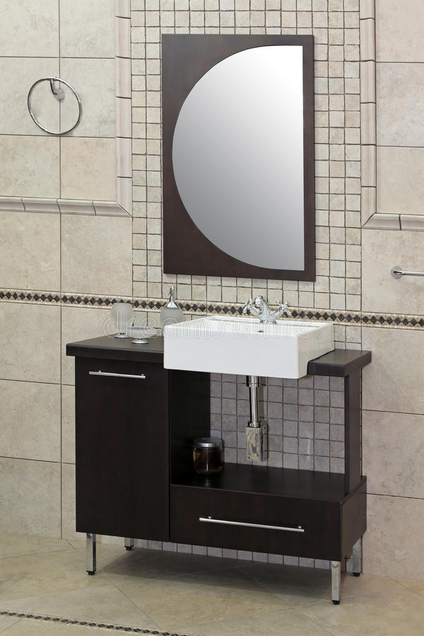 Modern sink royalty free stock images