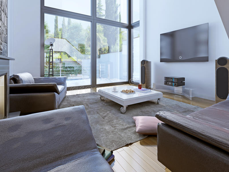 Download Modern Sitting Room Design Stock Photo   Image: 59220613