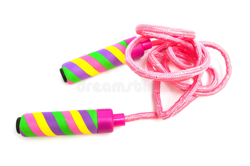 A modern skipping rope stock photography