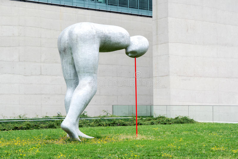 Skulptur Modern modern skulptur på den statliga samlingen av egyptisk konst