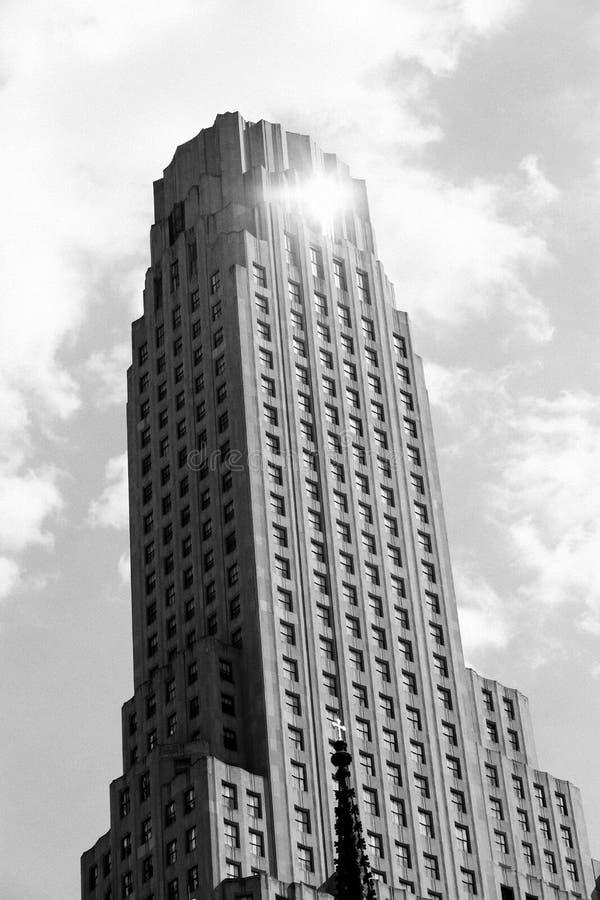 Modern Skyscraper In Black And White Free Public Domain Cc0 Image