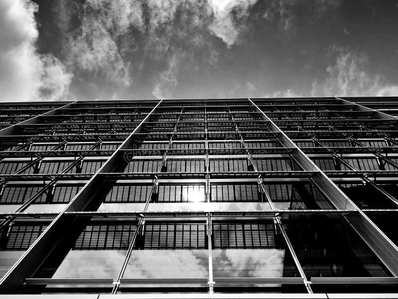 Modern skyscraper buildings stock image