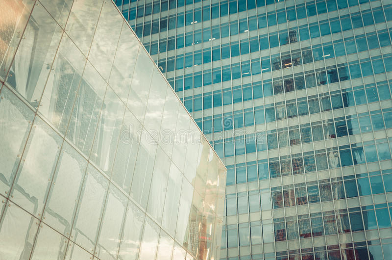 Modern skyscraper business office, corporate building abstract. royalty free stock images