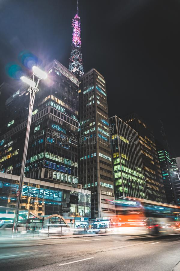 Modern skyscrapers royalty free stock photos