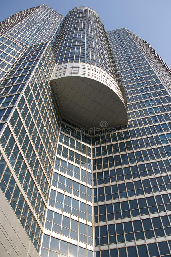 Modern skyskrapa royaltyfri bild