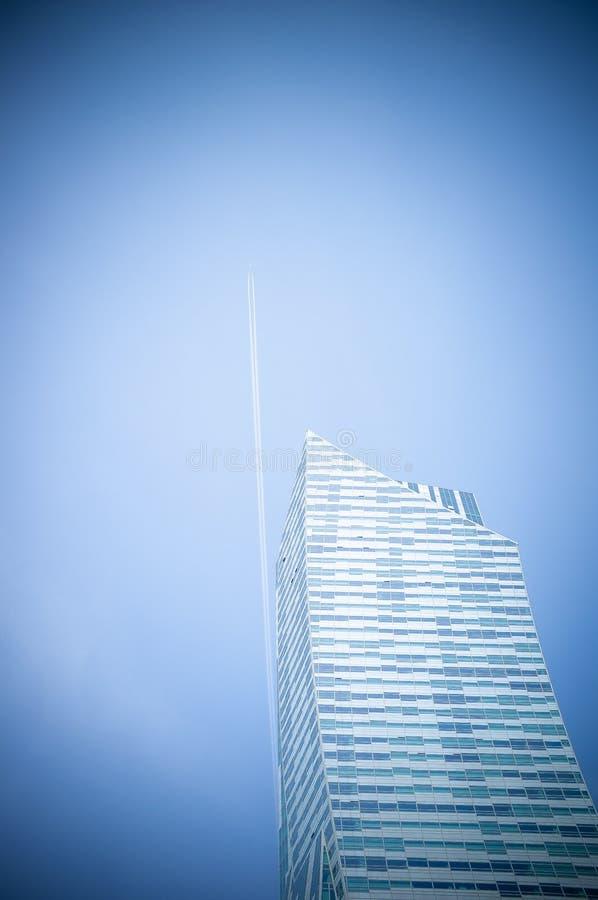 modern skyskrapa royaltyfria bilder
