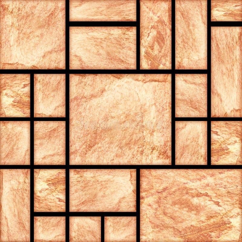 Modern slab ,slat stone wall background.  stock images