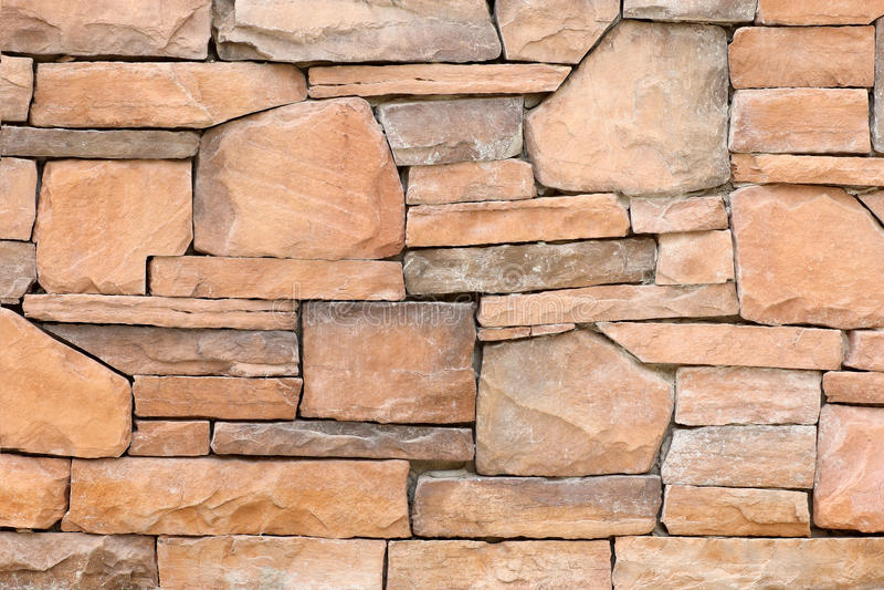 Modern slab ,slat stone wall. Background stock image