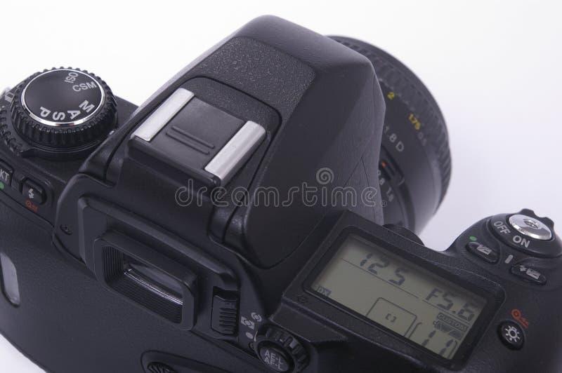 Modern SLR camera royalty free stock photography