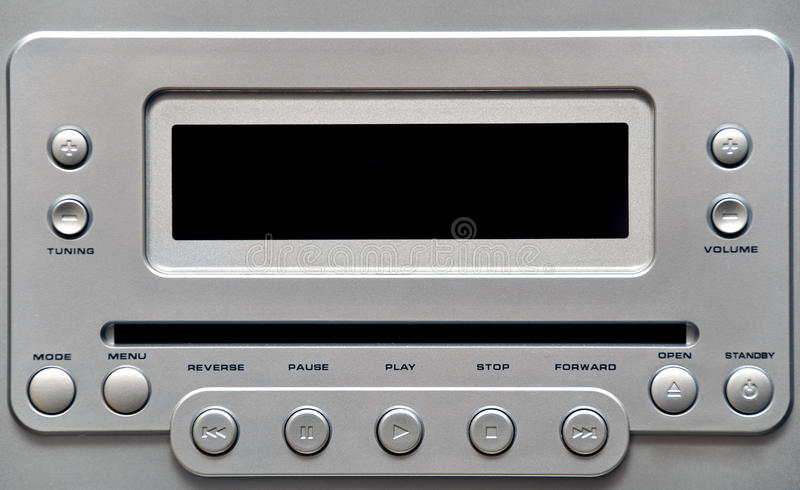 Modern small HiFi system stock images
