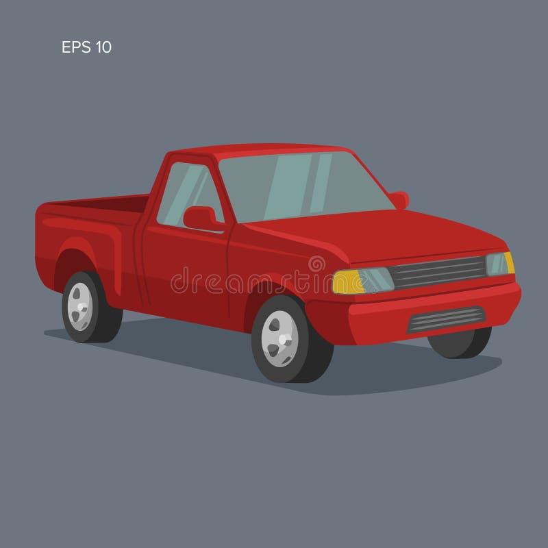 Pickup Truck Stock Illustrations 7 922 Pickup Truck Stock