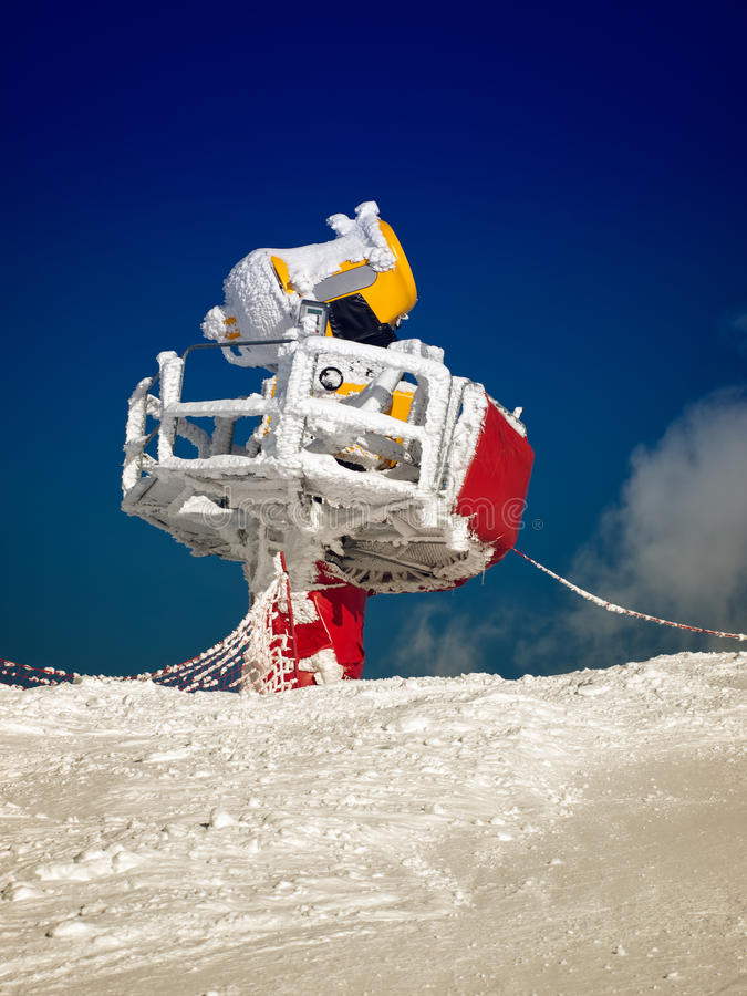 Download Snow cannon stock photo. Image of snowboard, snowmaking - 29774528