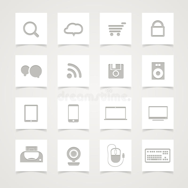 Download Modern Social Media Icons Stock Photo - Image: 26852040