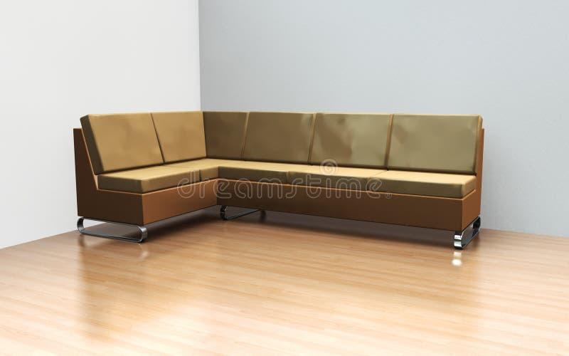 Download Modern Sofa stock illustration. Image of area, floor - 11964078
