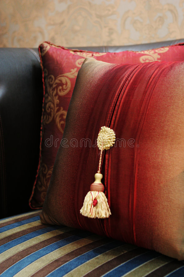 Modern sofa stock photos