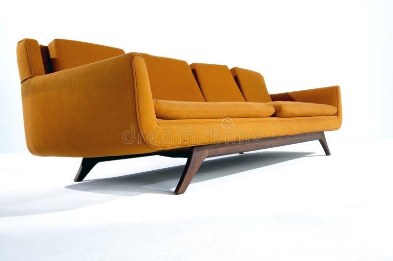 modern sofa royaltyfri foto