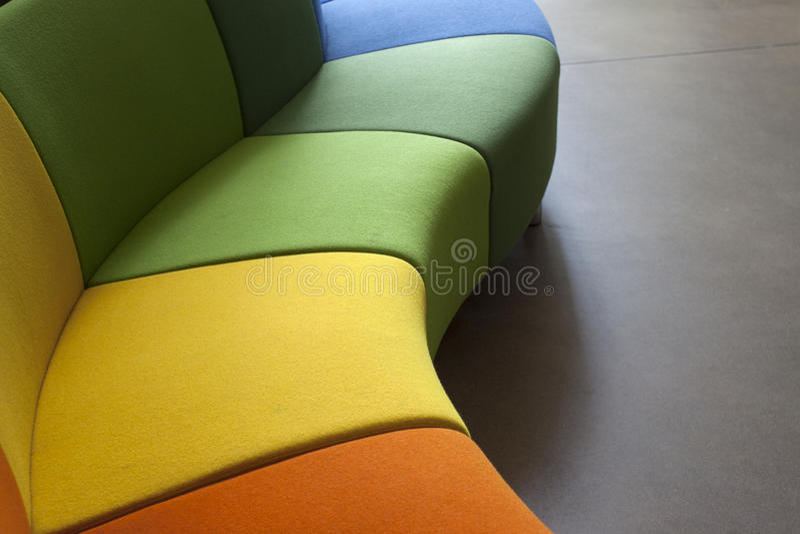 Modern Sofa Stock Image