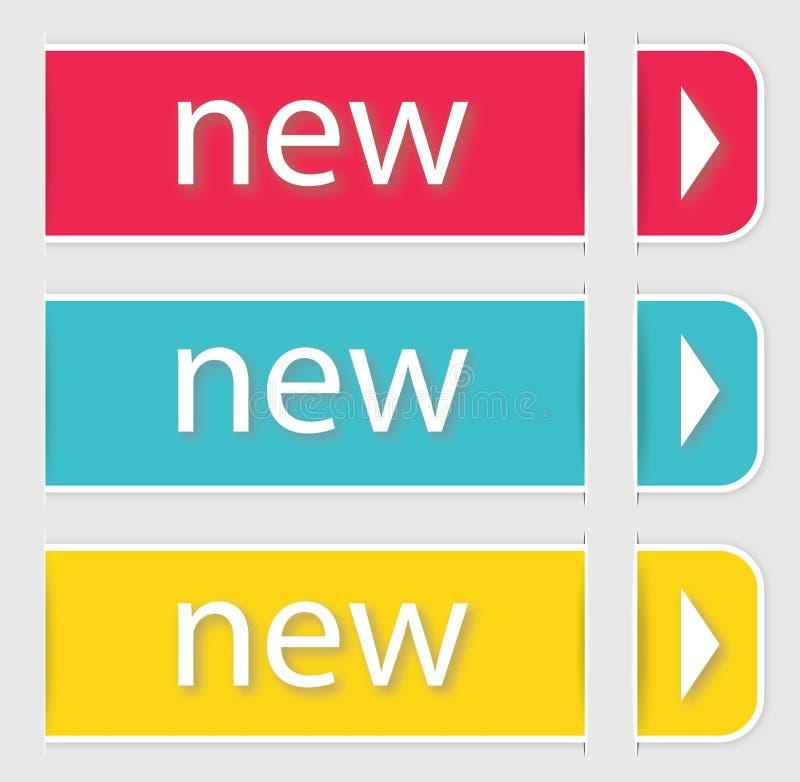 Modern soft color design template. stock illustration