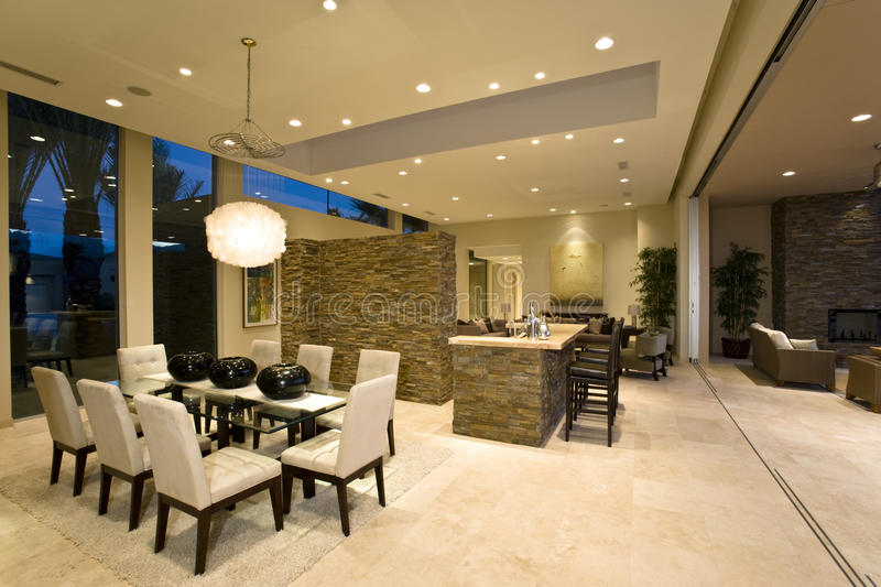 Modern And Spacious House Interior Stock Photo Image Of