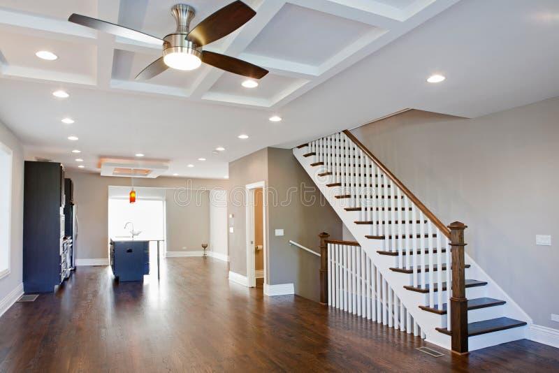 Modern spacious living room. royalty free stock photo