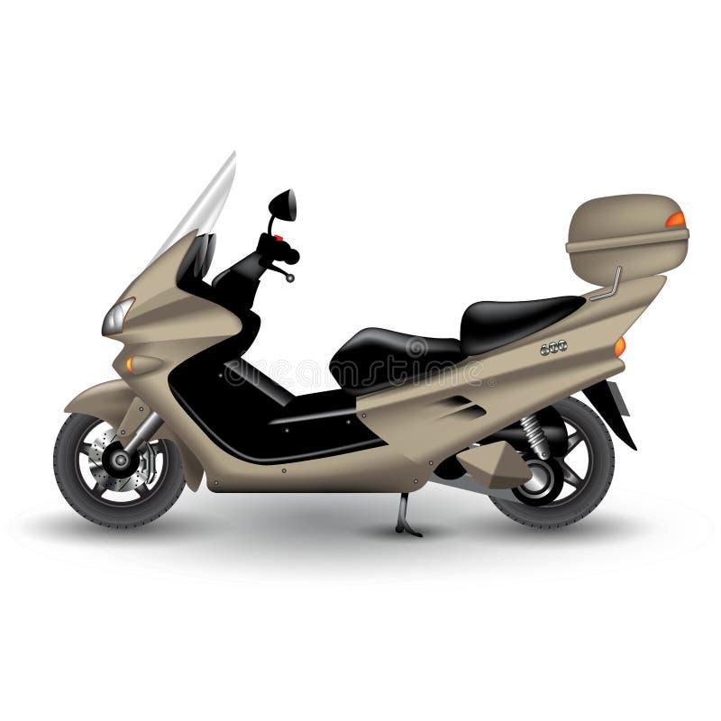 modern sparkcykel royaltyfri illustrationer