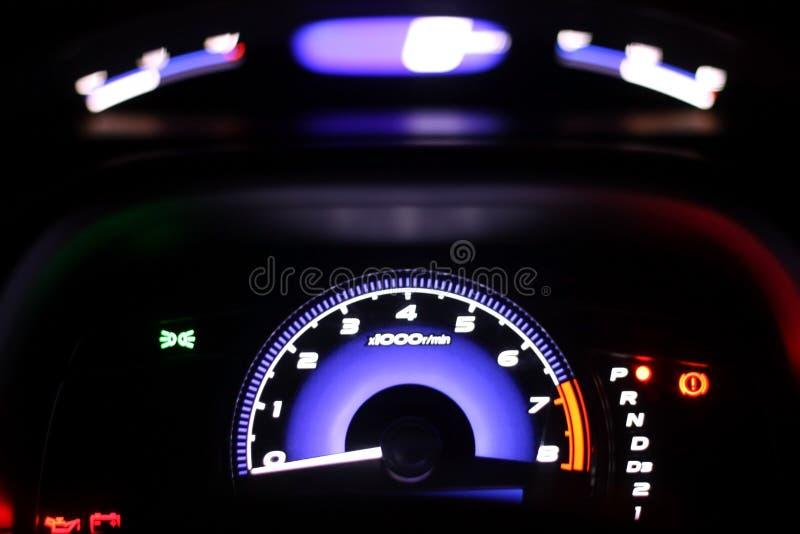 modern speedometer fotografering för bildbyråer